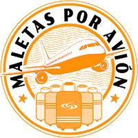 Maletas por avión Logo