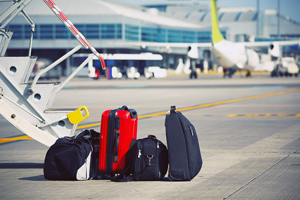 Our service of sending suitcases by plane